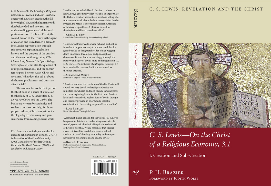 The Christ Of A Religious Economy I Creation Sub Creation